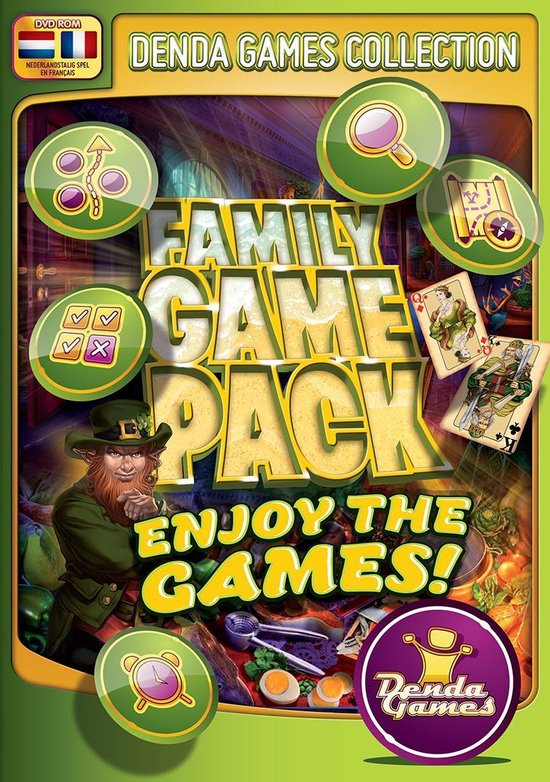 Family game pack – Enjoy the games!