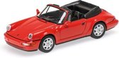Porsche 911 Carrera 2 Cabriolet 1990 Red