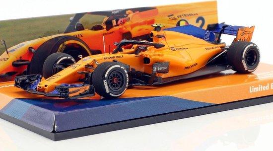 McLaren MCL33 #2 S. Vandoorne Spanish GP 2018