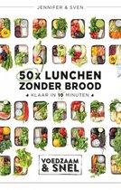 Boekomslag van '50x lunchen zonder brood'