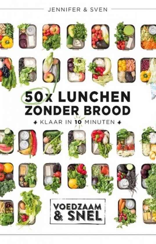 Omslag van 50x lunchen zonder brood