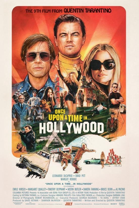 Afbeelding van Once Upon A Time In Hollywood (Blu-ray)