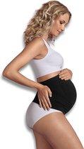 Carriwell Naadloze Buikband - ondersteunend bij zwangerschap - Zwart - L