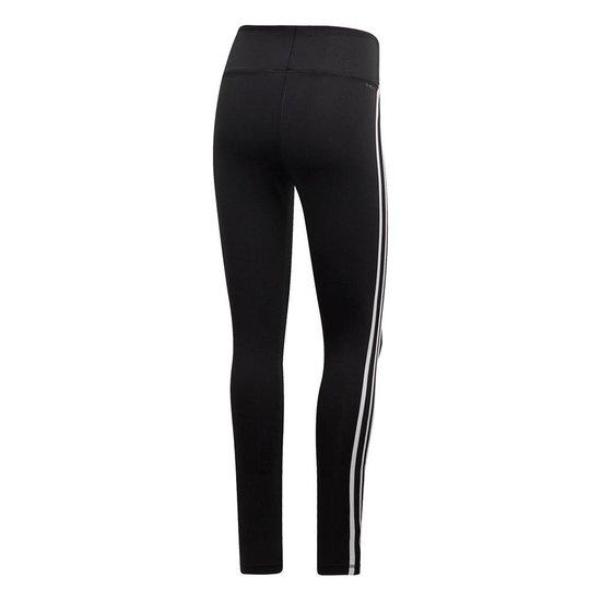 | adidas D2M 3 Stripes tight dames zwartwit