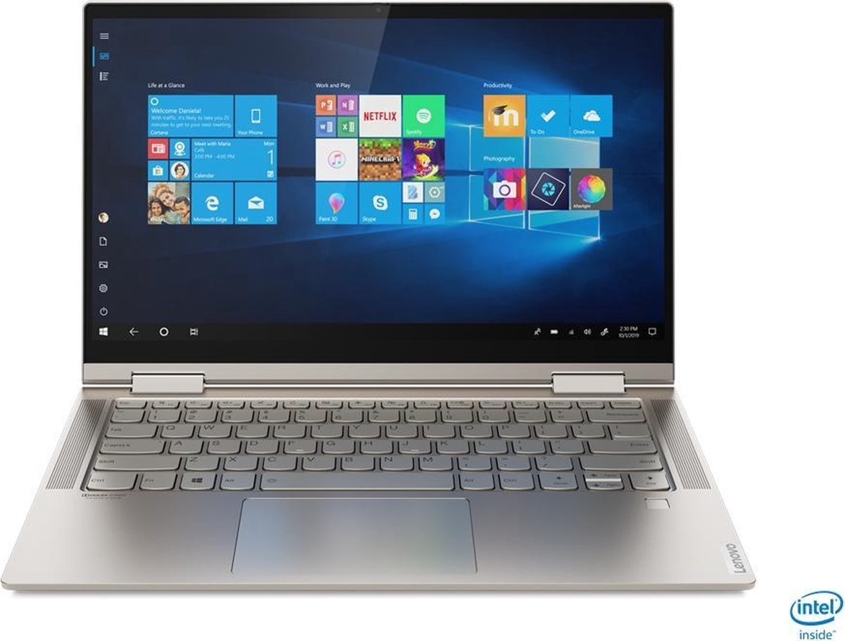 Lenovo Yoga C740 81TC004TMH - 2-in-1 laptop - 14 inch TOUCH