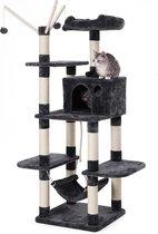 Songmics Kattenhuis - Huis voor Katten - Speelparadijs Katers