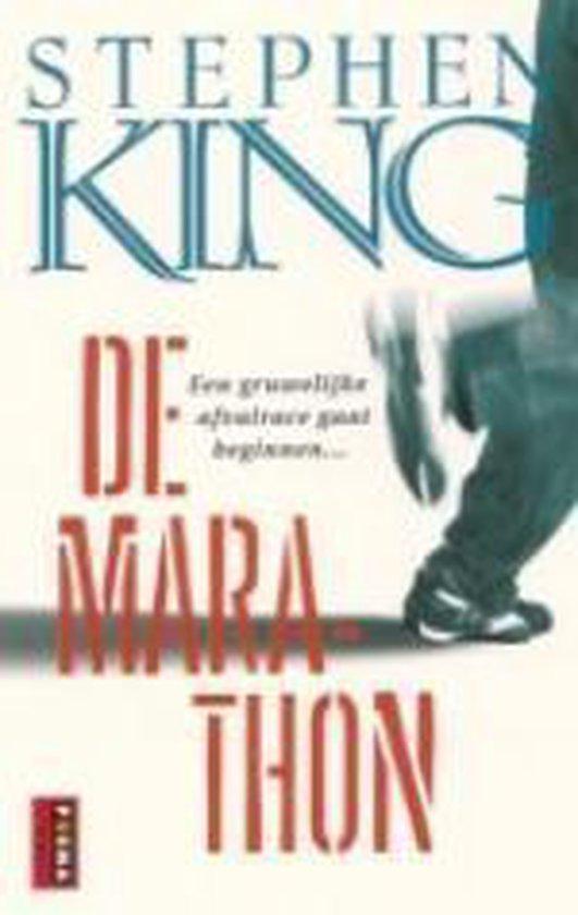 Cover van het boek 'De marathon' van Stephen King