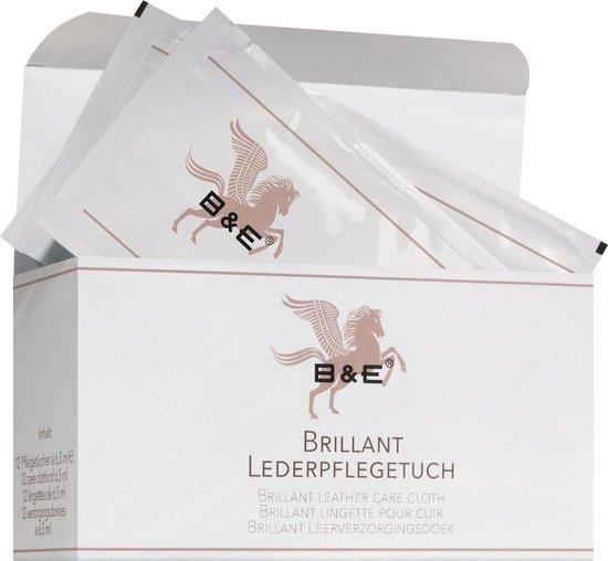 B & E Brillant reinigingsdoekjes voor leder