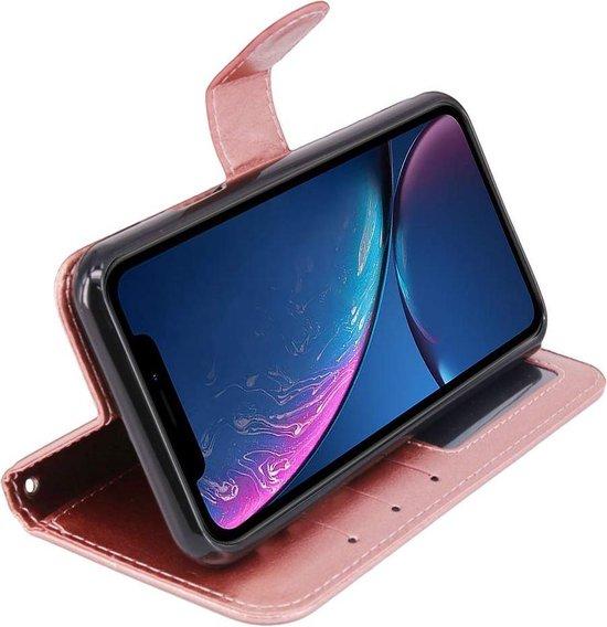 Motorola Moto Z4 Play Portemonnee hoesje roze