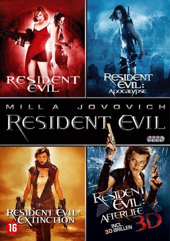Cover van de film 'Resident Evil 1-4 Boxset'