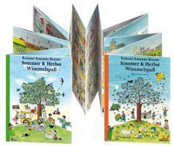 Boek cover Sommer & Herbst Wimmelspaß van Rotraut Susanne Berner