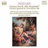 Mozart: Clarinet Trio, Clarinet Quartets / Kovacs, Bologh