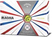 Callaway Supersoft Magna Golfballen - geel