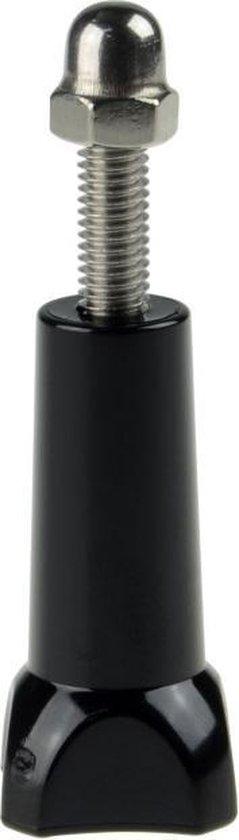 Selfiestick met adapter voor GoPro / SJCAM (Selfiepod /  Handheld Monopod) ZWART