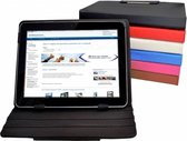 Hp Pro Tablet 408 G1 Diamond Class Hoes, 360° Draaibare Cover, Quality Case , wit , merk i12Cover