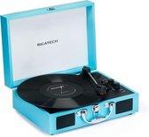 RICATECH RTT21 - Platenspeler met Bluetooth - Blauw
