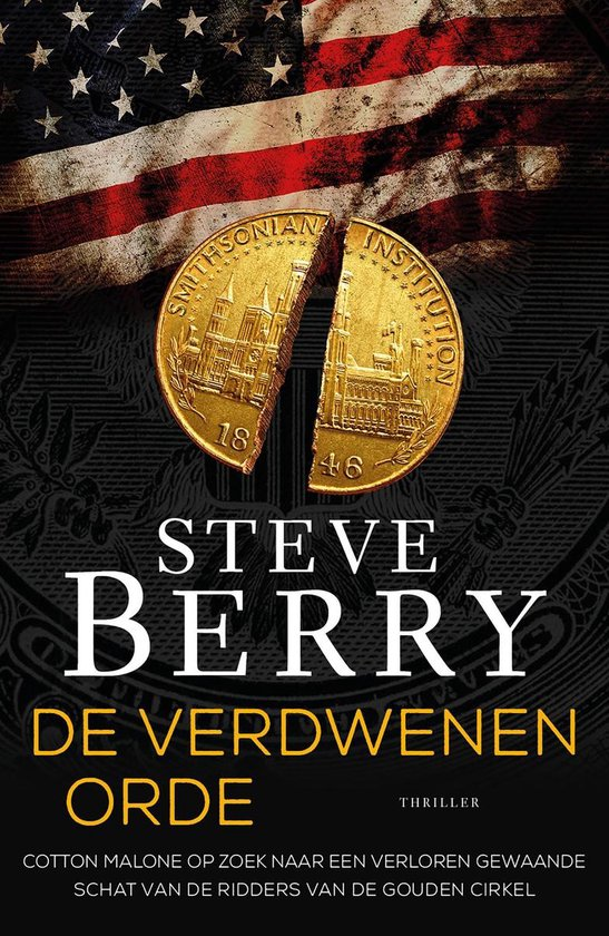 Boek cover Cotton Malone - De verdwenen orde van Steve Berry (Onbekend)