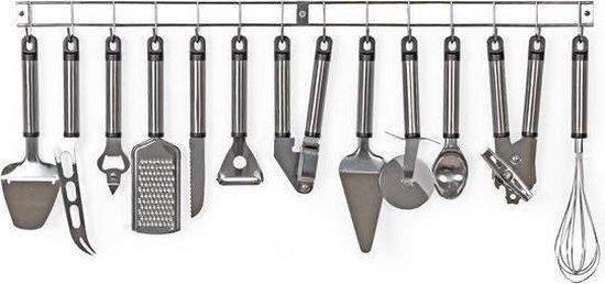 Tectake keukengerei set - 13-delig