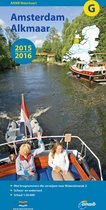 ANWB waterkaart G - Amsterdam-Alkmaar 2015-2016