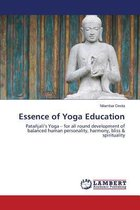 Boek cover Essence of Yoga Education van Deota Nilambar
