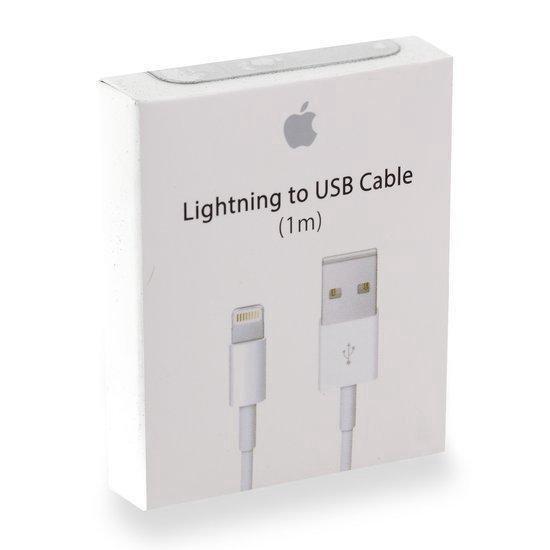 Apple USB kabel naar lightning - 1 meter