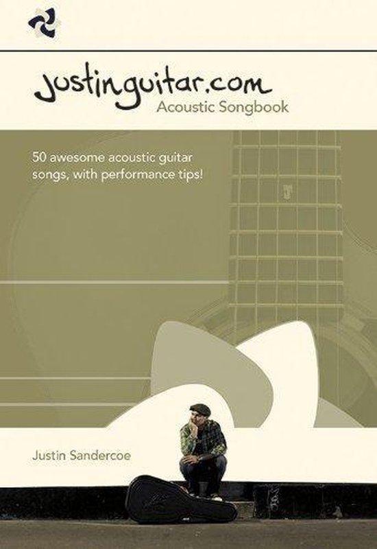 Boek cover The Justinguitar.com Acoustic Songbook van Justin Sandercoe (Paperback)