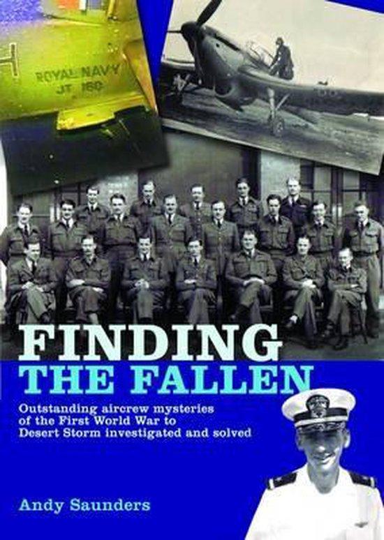 Boek cover Finding the Fallen van Andy Saunders (Hardcover)