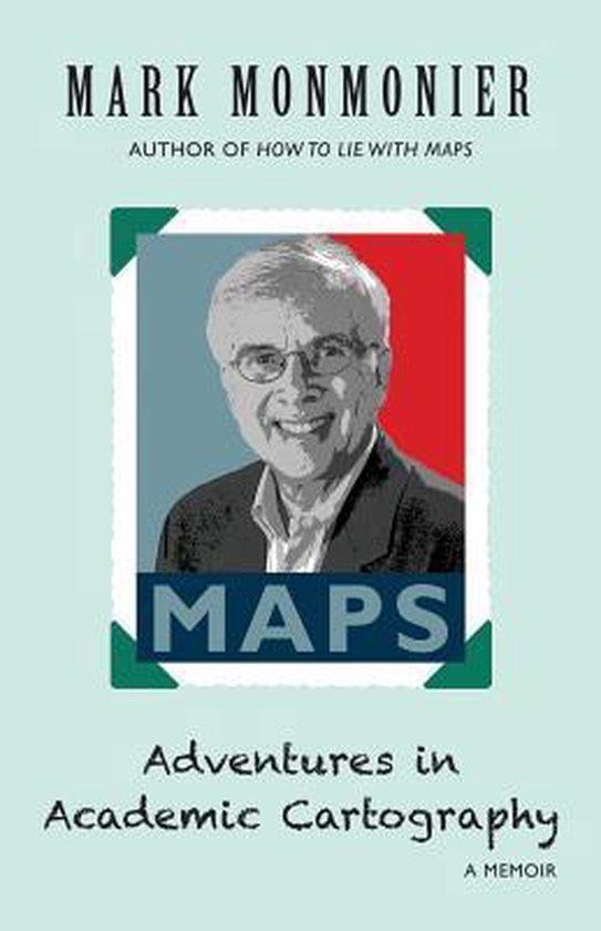 Boek cover Adventures in Academic Cartography van Mark Monmonier (Paperback)