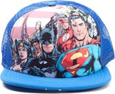 Justice League - Snap Back. Blue