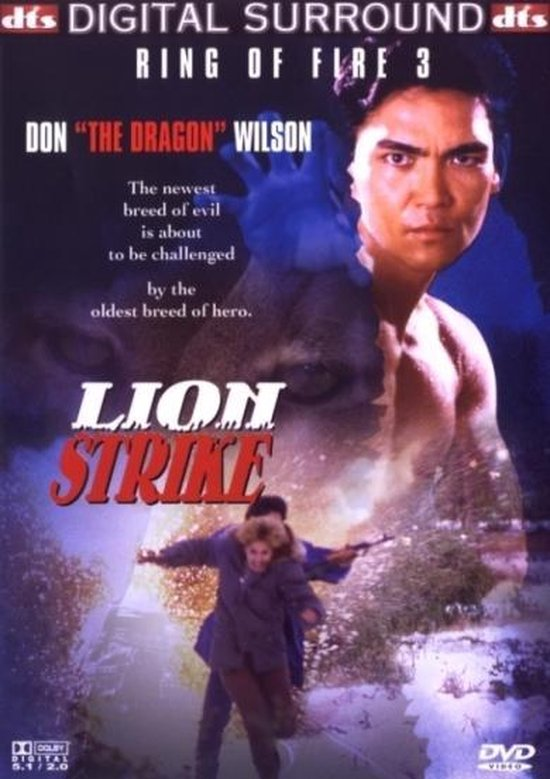 Cover van de film 'Ring Of Fire 3 - Lion Strike'