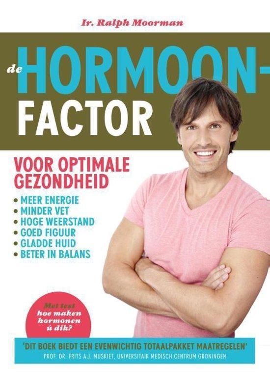 Boek cover De hormoonfactor van Ralph Moorman (Paperback)