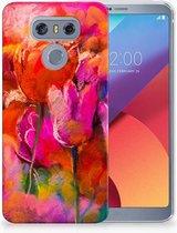 LG G6 TPU Hoesje Design Tulpen