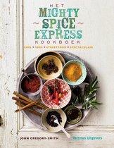 Boek cover Het mighty spice express kookboek van John Gregory-Smith (Hardcover)