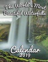 The World's Most Beautiful Waterfalls Calendar 2019