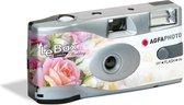 Bruiloft/huwelijk wegwerp camera met flitser en 27 kleuren fotos - Vrijgezellenfeest weggooi fototoestel