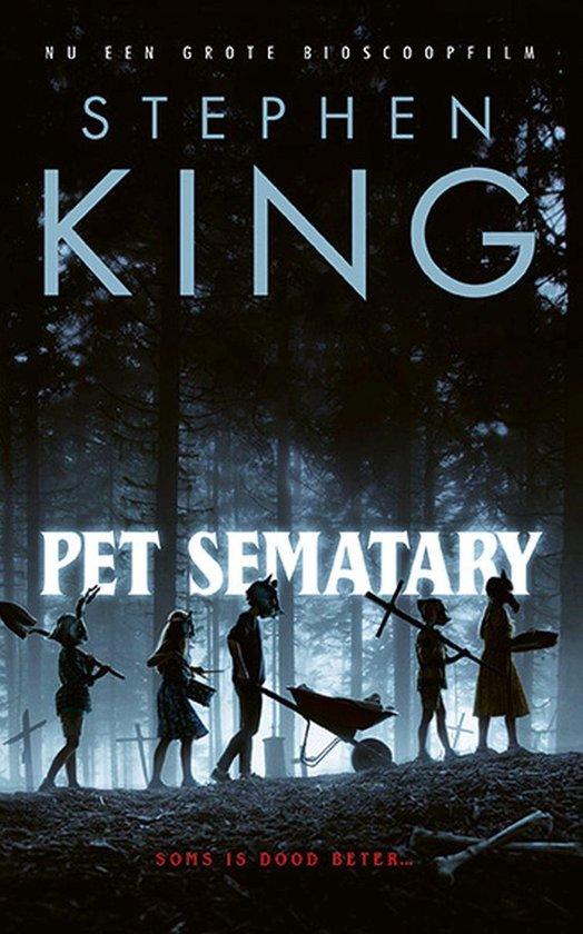 Boekomslag voor Pet Sematary
