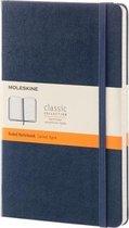 Moleskine Classic Notitieboek Hard cover - Large - Donkerblauw - Lijnen