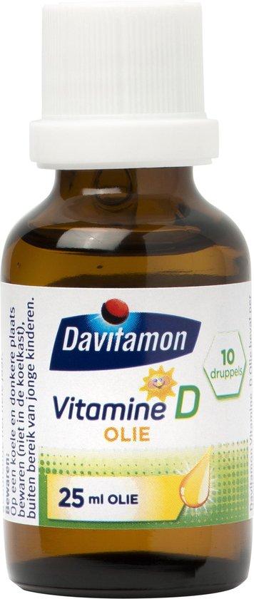 Davitamon Baby Suikervrij - 1ste vitamines - vitamine D en K - 35 ml