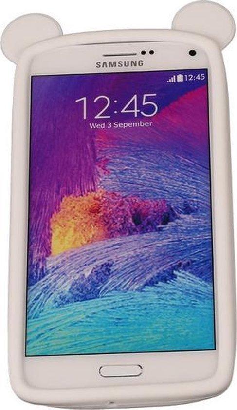 Wit Bumper Beer Medium Frame Case Hoesje voor HTC Desire 628