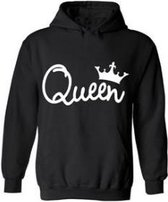 Queen | hoodie sweater | black | XX-Large