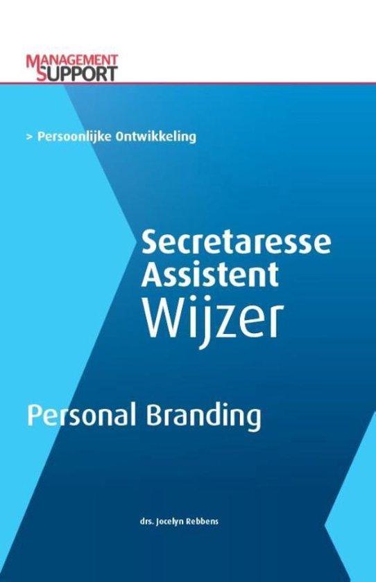Secretaresse Assistent Wijzer - Personal branding! - Jocelyn Rebbens | Fthsonline.com