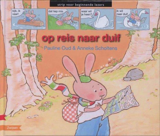 Strip voor beginnende lezers - Op reis naar duif - Pauline Oud |