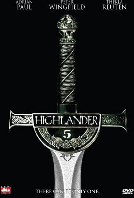 Cover van de film 'Highlander 5'