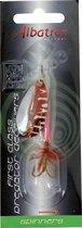 Albatros Deeprunner Spinner - Bladmaat 4 - Silver - Red