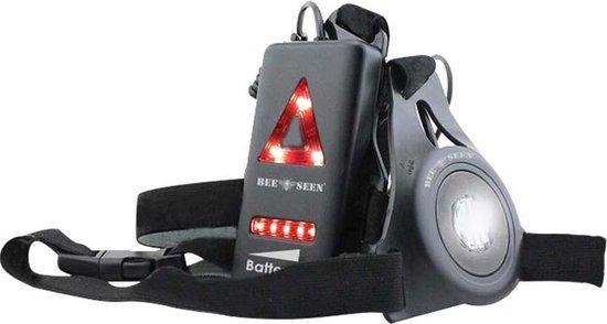 Bee Seen - Body Light - USB- Verlichting - LED - one size - Hardloopvest - Jogging reflectie vest - Hardloop verlichting- Hardloop vest - borstlamp - borst lamp - bee seen
