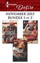 Harlequin Desire November 2013 - Bundle 1 of 2