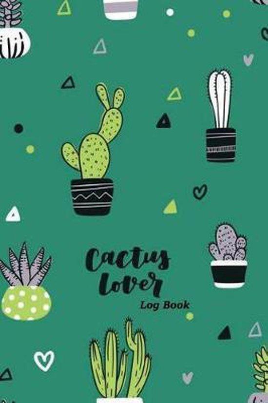 Cactus Lover Log Book