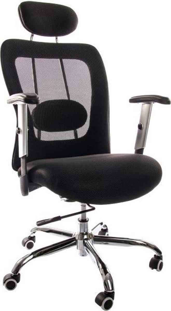IVOL Bureaustoel Ergo - Ergonomische bureaustoel - Zwart