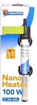 Superfish nano heater 100 watt - 20-60L - 21 cm