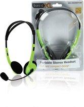 Basic XL BXL-HEADSET1 - Stereo Headset - Groen